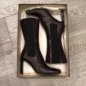 Vivian Lee leather boots